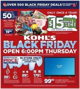 Kohl's #BlackFriday Ad,  #Blackfriday #Blackfridayads #Kohls