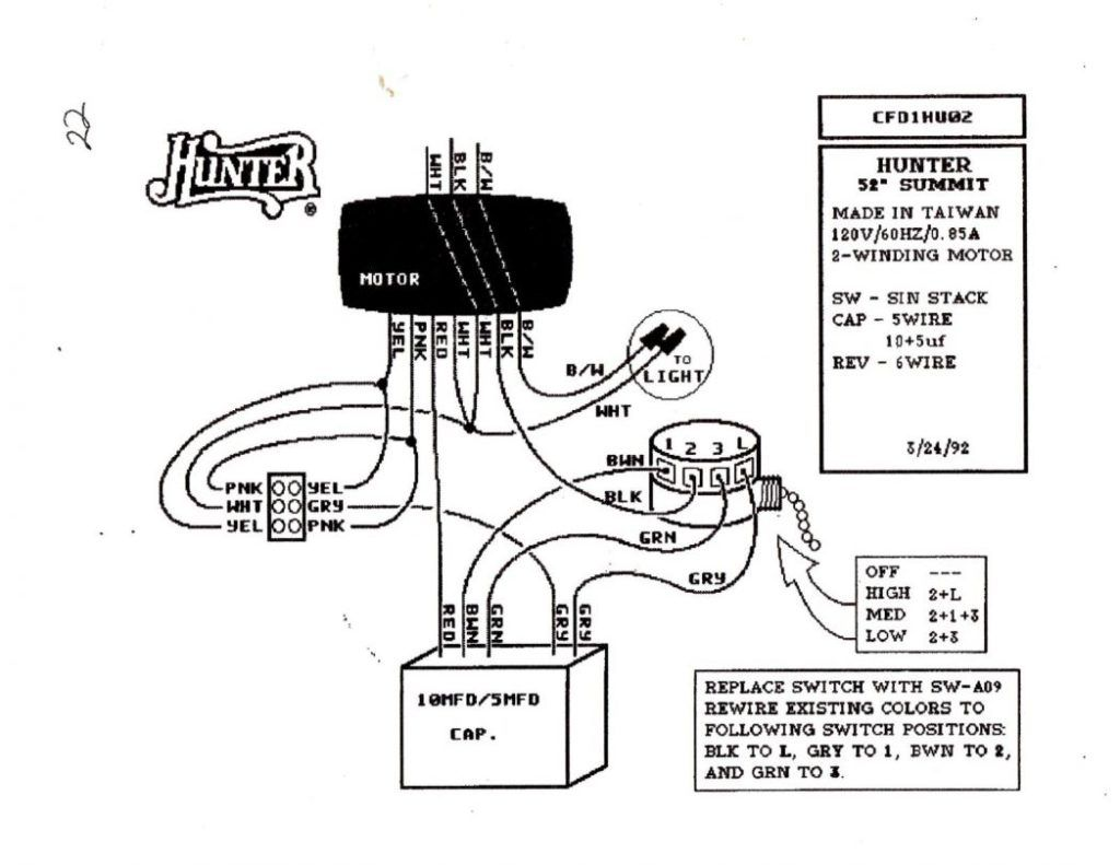 hunter ceiling fan light kit wiring diagram http rh pinterest ie