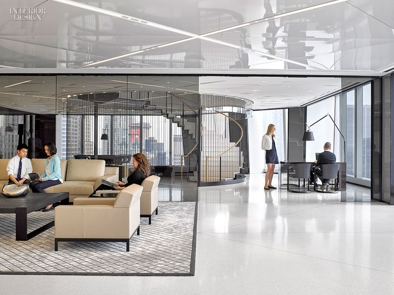Cond nast s one world trade center hq by gensler new york for Interior design office new york