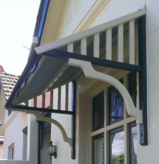 These are DIY window awnings and canopies. The company is ...