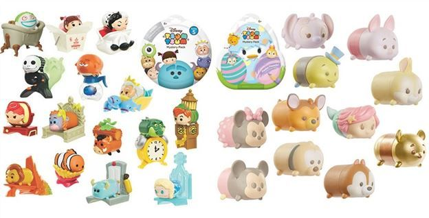 Disney Tsum tsum series 11 complete set and booster pack