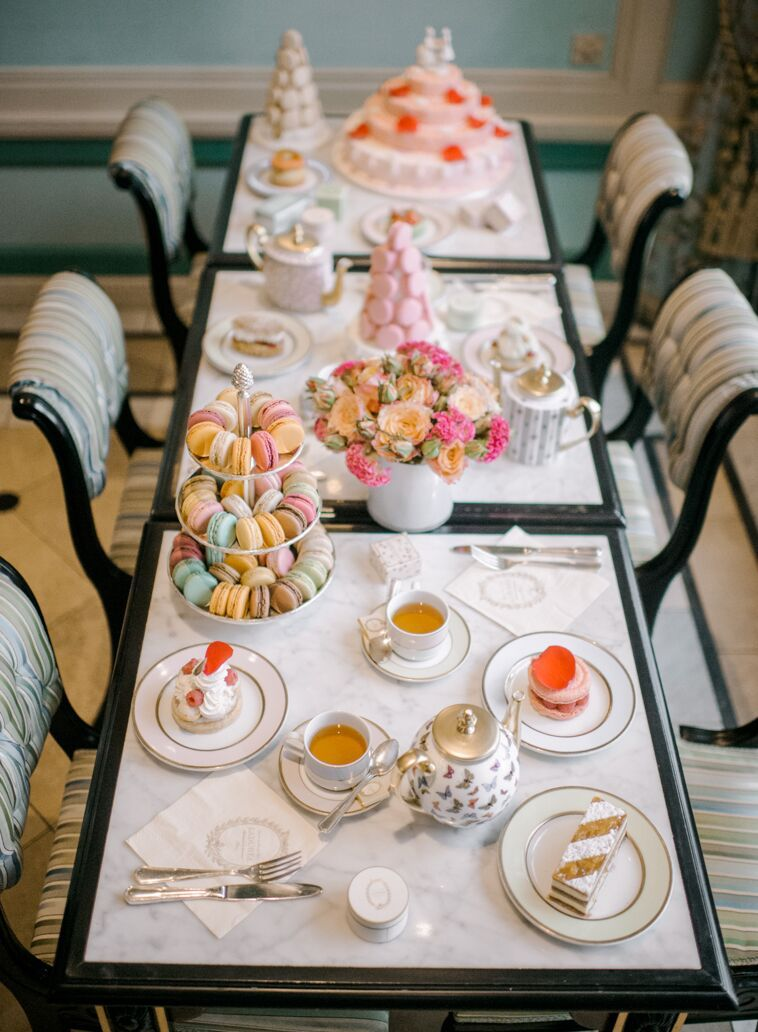 A Peek Inside The Magical Ladurée Soho | Eid Mubarakah | Tea