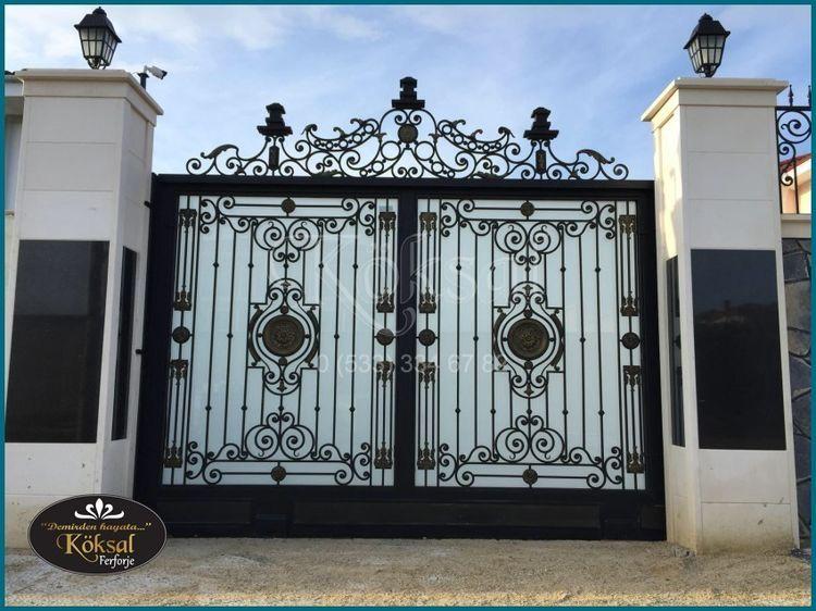 Bahçe Kapıları Villa Bahçe Kapıları Garaj Kapıları Garaj Kapısı Modelleri Portones Corredizos Puertas De Garaje Hierro