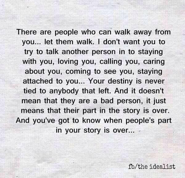 Let them walk