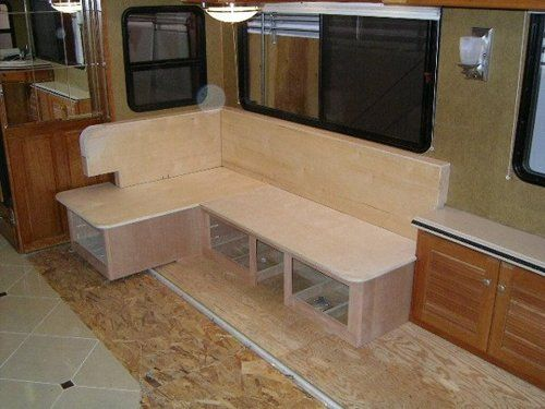 Good Custom RV Mod RV Dinette 2 Pictures Gallery