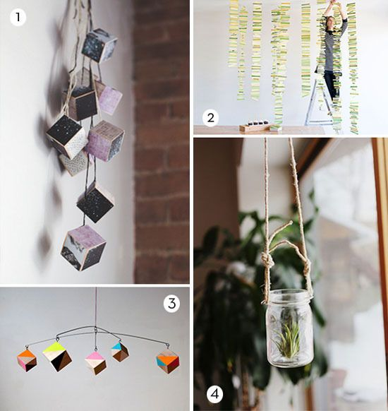 Let's Hang Out: 14 DIY Ideas that Hang from Ceiling » Curbly | DIY Design Community