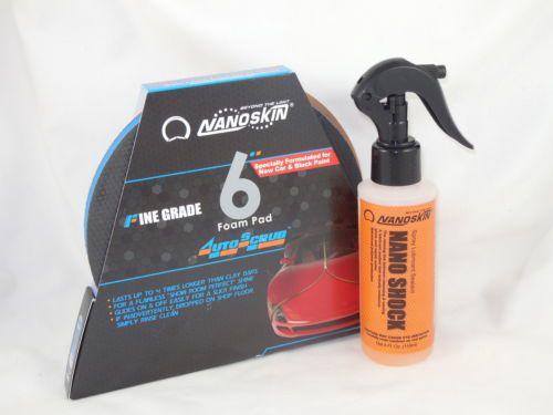 NEW Nanoskin AS 003 AutoScrub 6 Medium Grade Foam Pad for DA Polisher