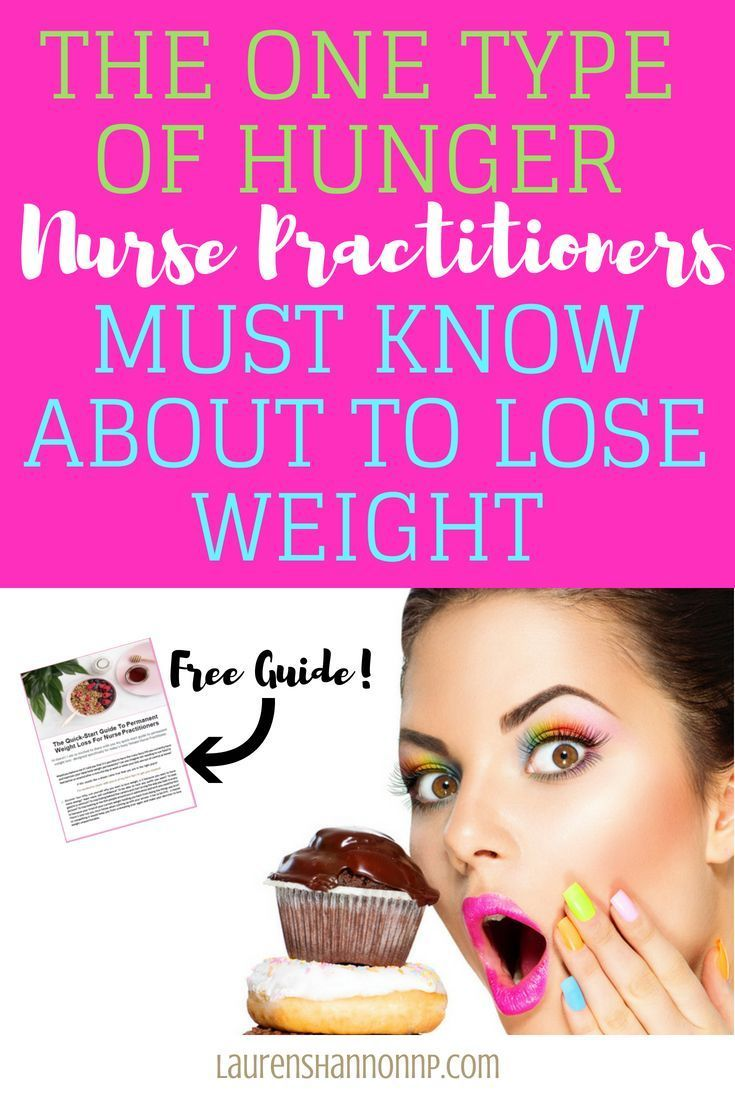The Two Different Types Of Hunger That Nurse Practitioners