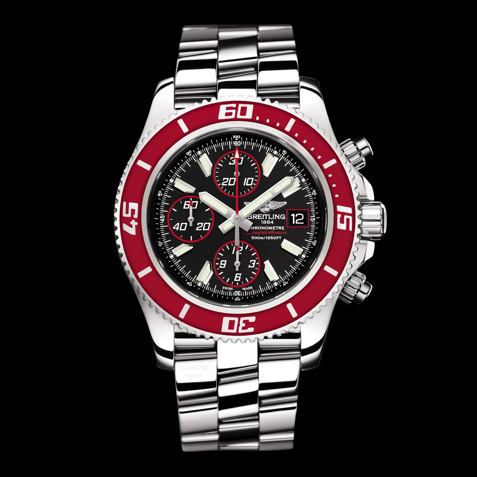 Breitling Superocean Chronograph II Red