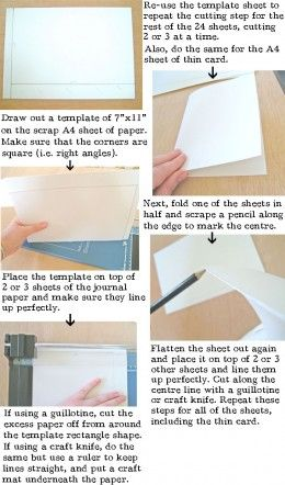How to make a leather book binding