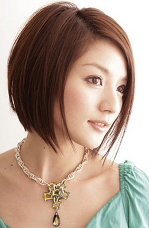 Short Hairstyles For Asian Women With Round Faces Hairstyles Ideas Asian Hair Asian Short Hair Medium Hair Styles