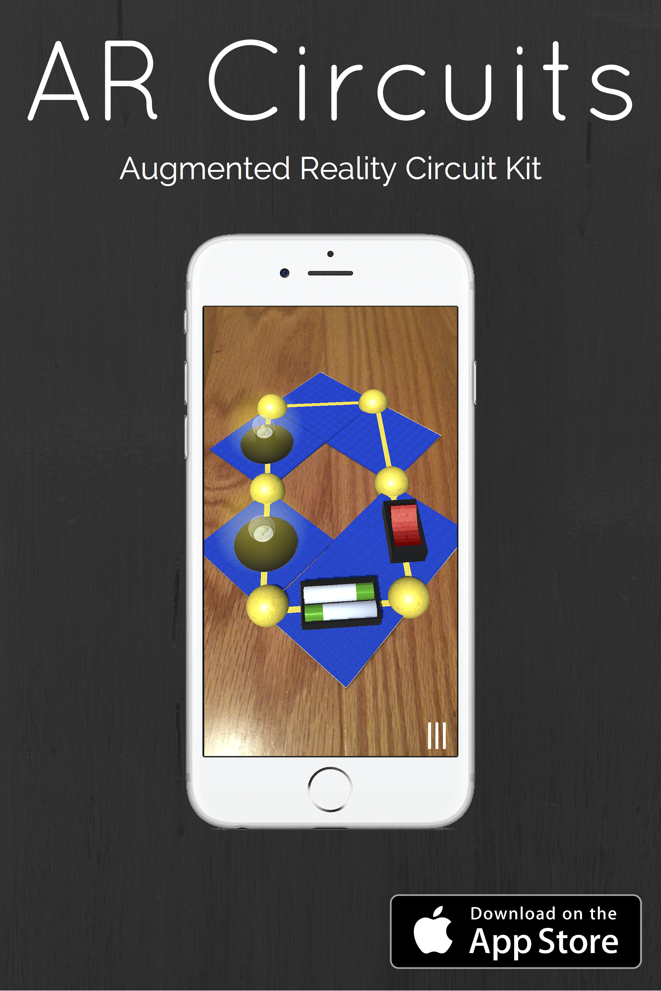 An Electric Circuit Kit In An App Made Possible With