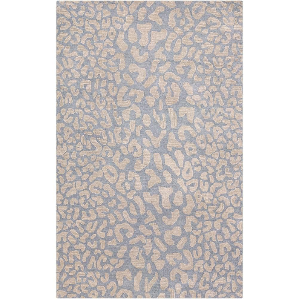 Dining Room Rugs Surya Athena Pale Blue Animal Area Rug u