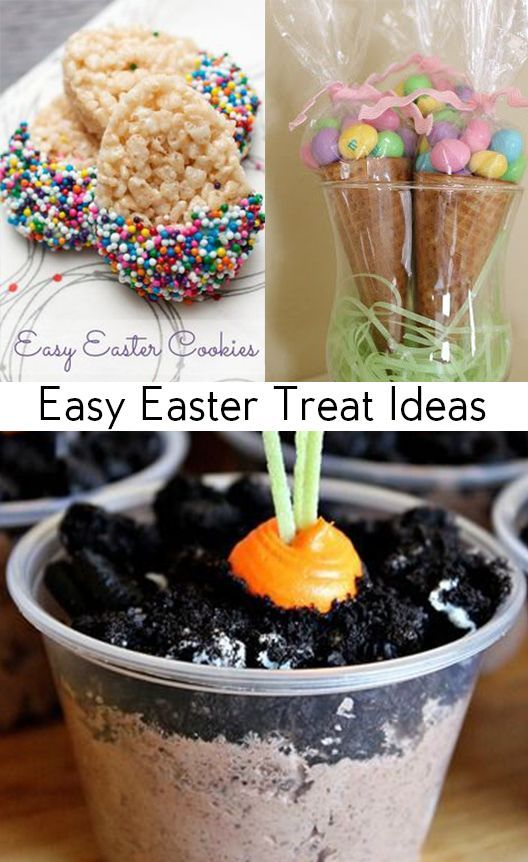 Easy Easter Treat Ideas Cute For Treats And Snacks Parties Or