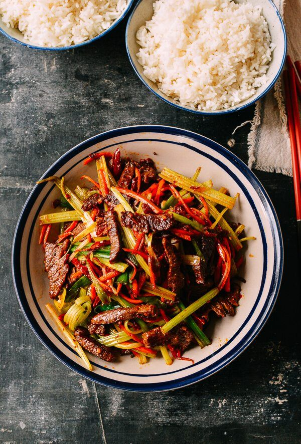 Sichuan Beef, Dry-Fried – The Woks of Life