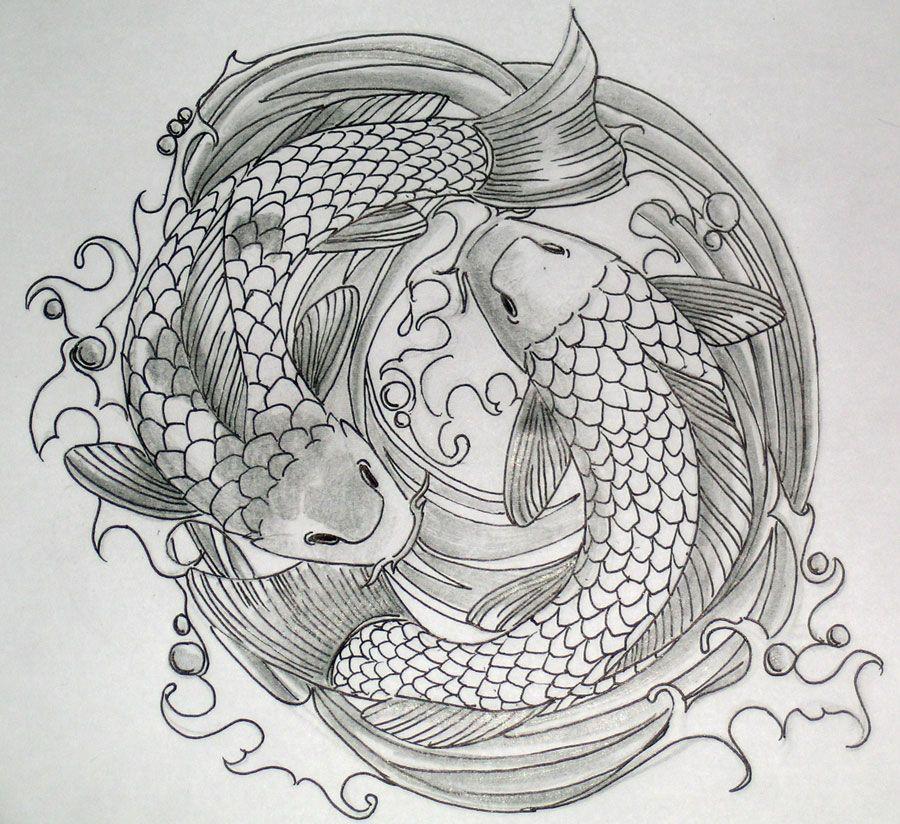 Japanesekoifishtattoo Koi Tattoo Japanese Tattoo Art Koi Fish Drawing