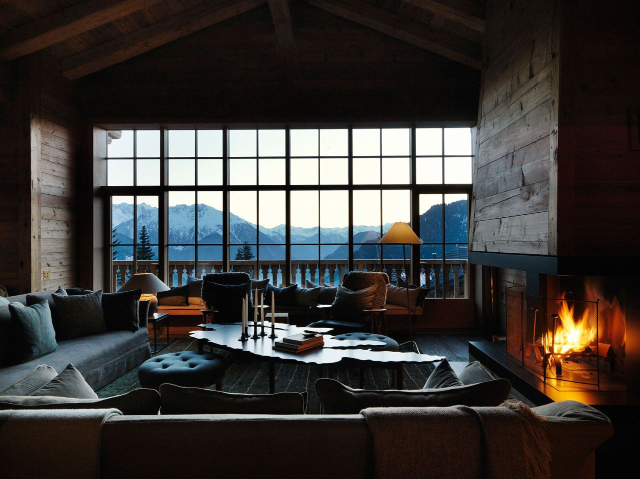 """dream-home-interior-design: """" Chalet in the Swiss Alps by Studio Ilse """""""