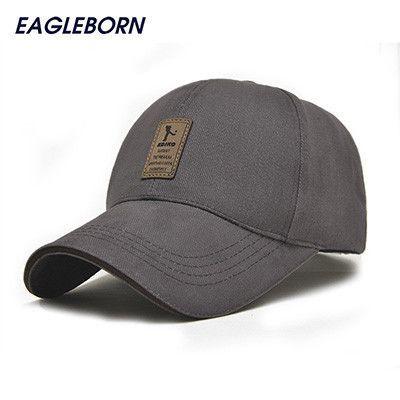 96e71fe9c2b56 2017 EAGLEBORN Brand Fashion Baseball Cap for Men Women Cotton Casual Hats  for Men Golf Logo snapback casquette bone gorras