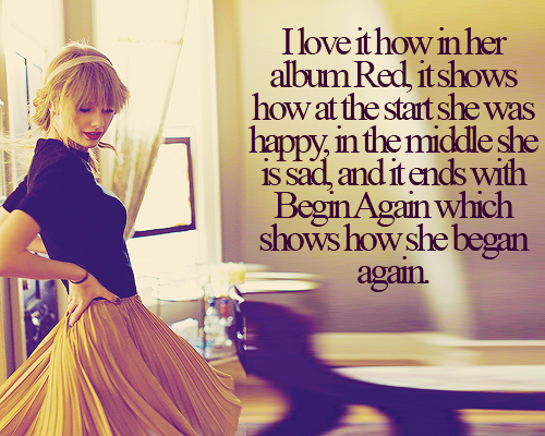 Never thought about that......Now i'm going to listen to the whole cd in order <3