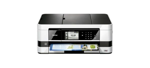 """O novo multifunções da Brother MFC-J4510DW é o presente ideal para o Dia do Pai. Este equipamento de impressão de tinta profissional compacta de alta velocidade com fax e impressão automática frente e verso, adequa-se às necessidades profissionais e de lazer do pai mais """"high-tech""""."""