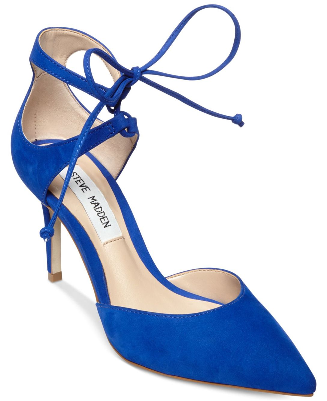 postura Espectáculo fiesta  Ame estos zapatos azules, Steve Madden | Lace up sandals, Pointed toe  shoes, Buy high heels