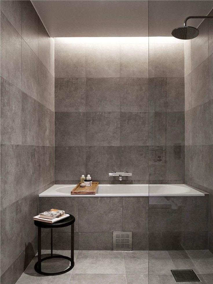 Concrete Effect Bathroom tiles Bathroom inspiration
