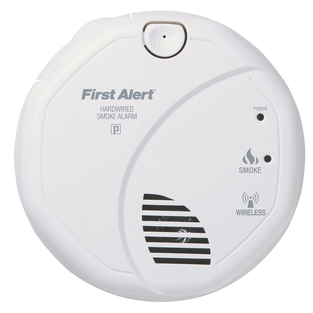 hight resolution of first alert sa521cn interconnected hardwire wireless smoke alarm w wiring harnes firstalert