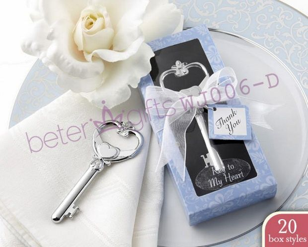 """Unique /""""Key To My Heart/"""" Love Bottle Opener Wedding Gift Party Favor Supply"""