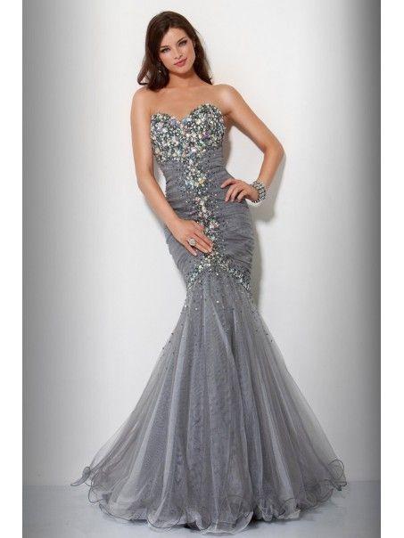 Mermaid Sweetheart Floor Length Prom / Evening / Formal Dresses