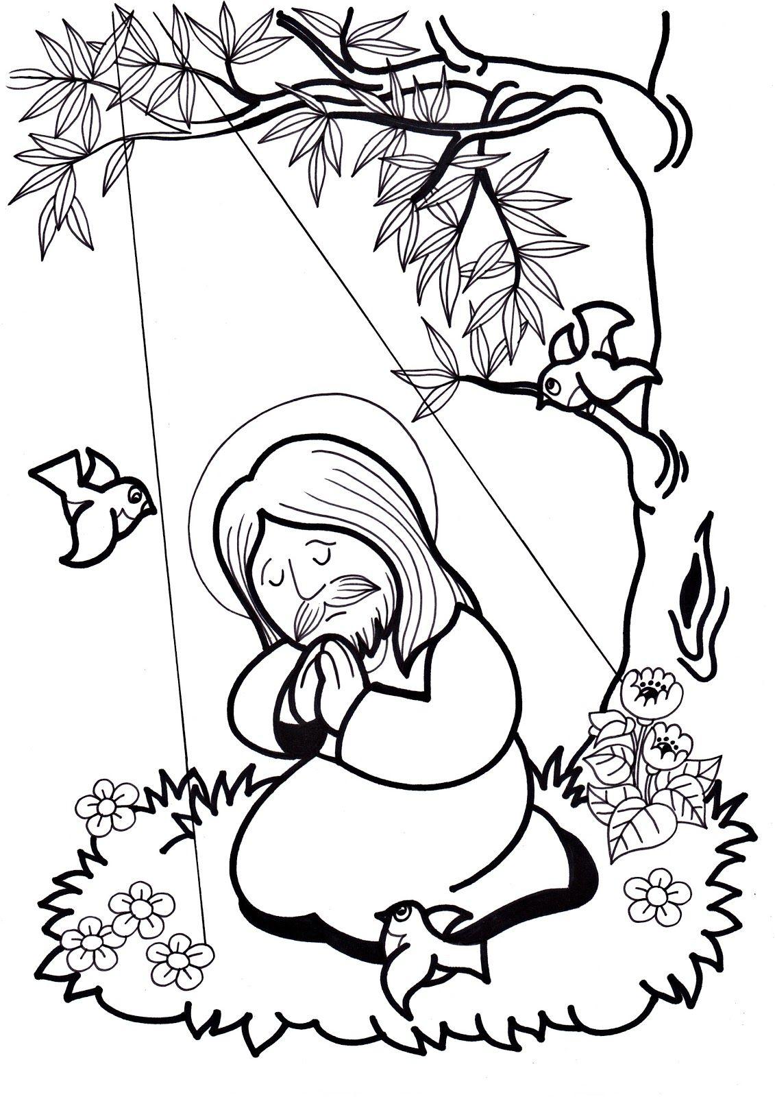 1ª ESTACIÓN: JESÚS EN EL HUERTO DE LOS OLIVOS 2ª ESTACIÓN: JESÚS ...