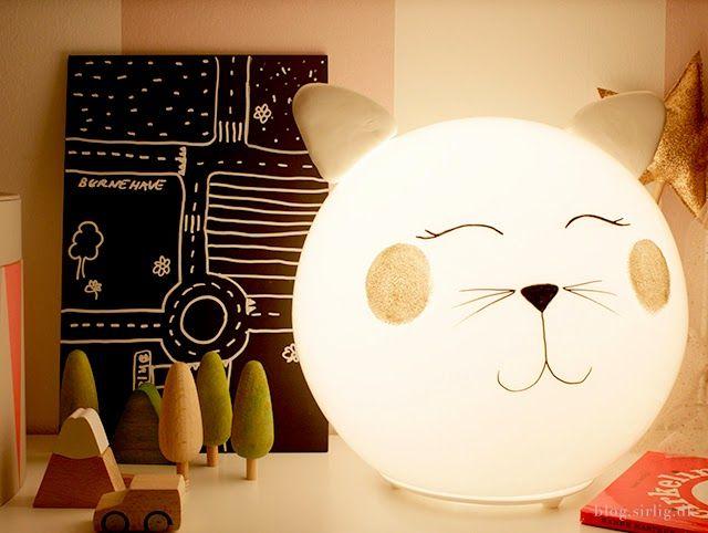 Kinderzimmerlampe Sterne ~ Diy kitty lamp fado ikea hack ikea hack kitty and room
