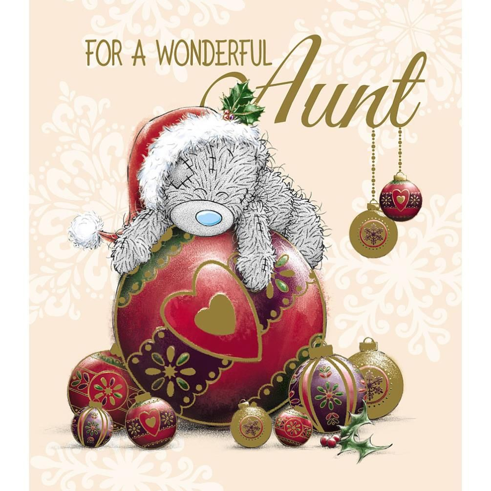 Aunt Me to You Bear Christmas Card £1.89 | Christmas Toys 2016 ...