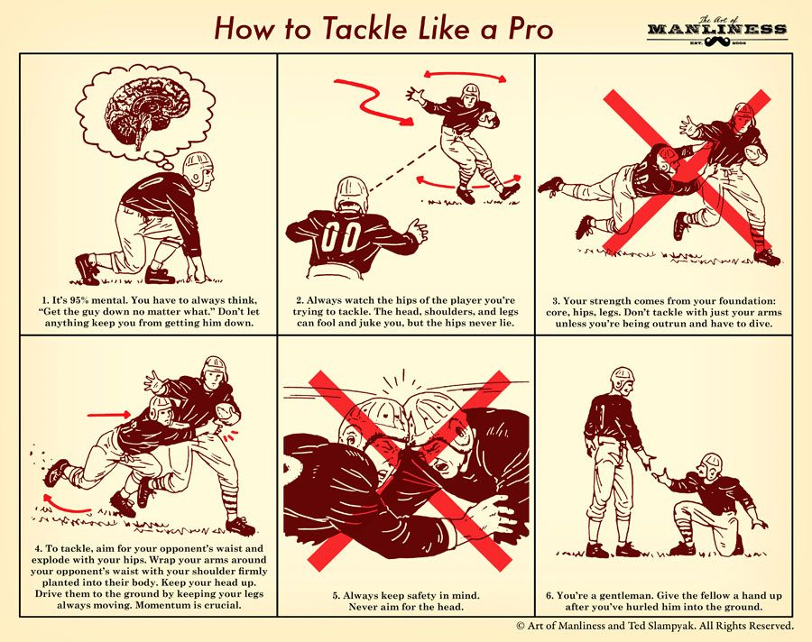 How to tackle like a pro art of manliness tackle