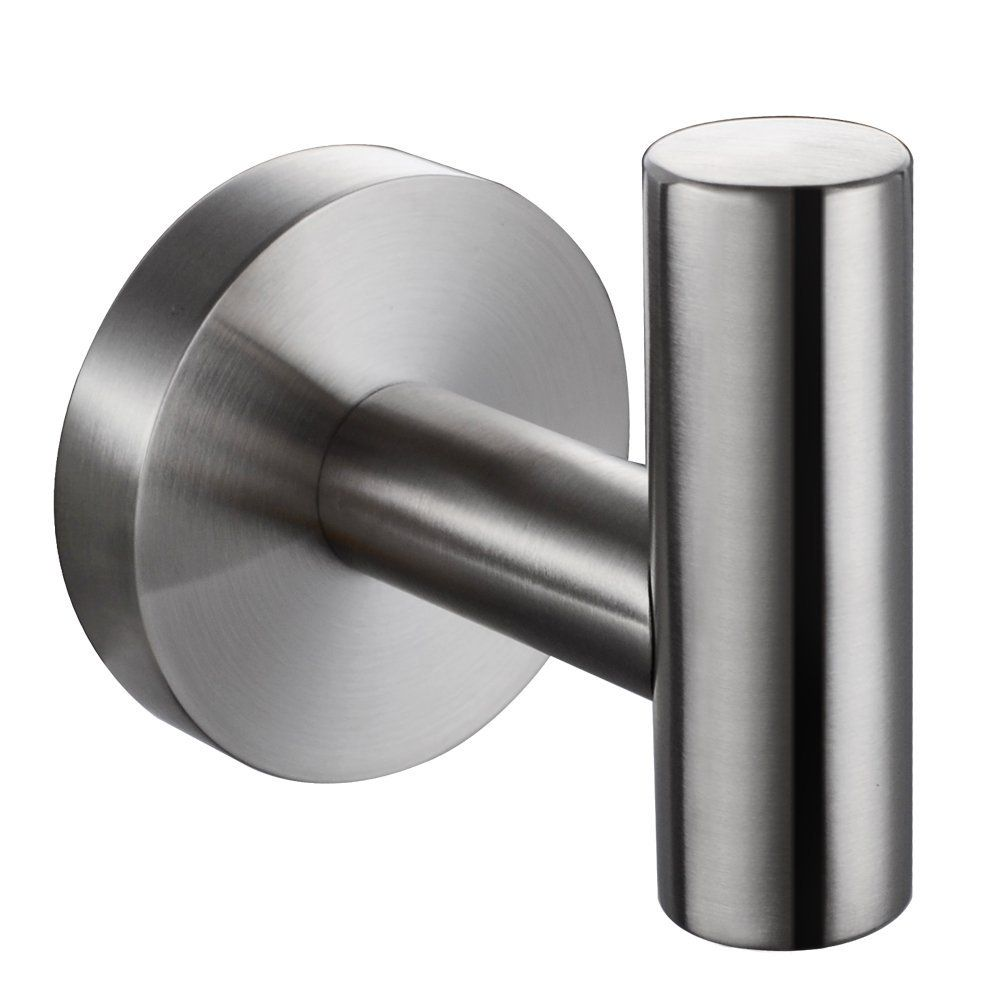 Amazon.com: KES SUS 304 Stainless Steel Coat Hook Single Towel/Robe Clothes