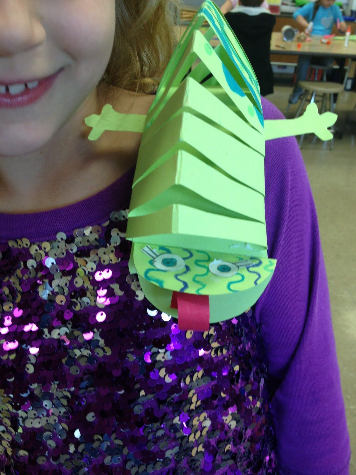 Artipelago Chameleon Sculptures Kids Crafts Diy And