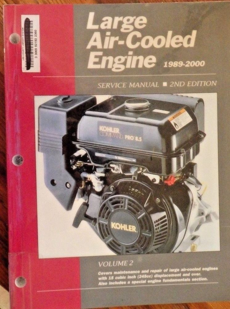 Large AirCooled Engine 19892000 (Large Air Cooled
