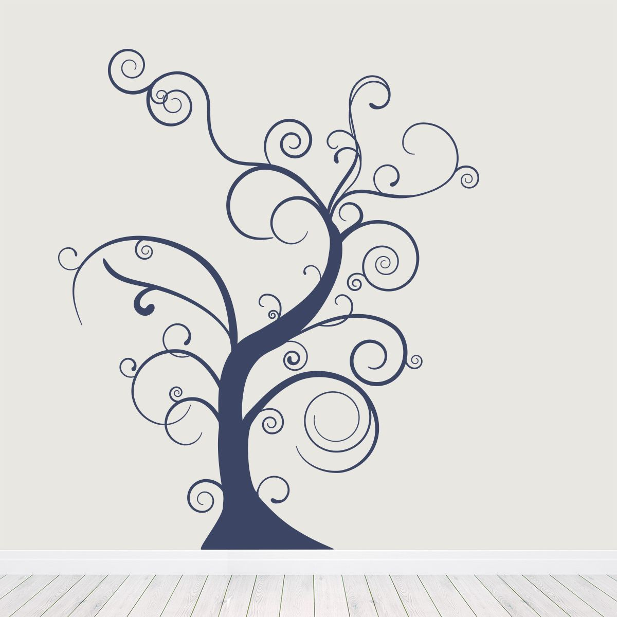 Thin Bare Whimsical Tree Wall Decal  sc 1 st  Pinterest & Thin Bare Whimsical Tree Wall Decal | Whimsical Wall decals and Walls