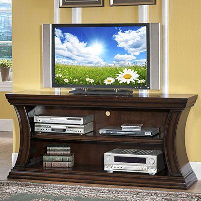 60 Curved 2 Shelf Tv Stand 2 Shelf Tv Stand Tv Stand Unique Tv Stands