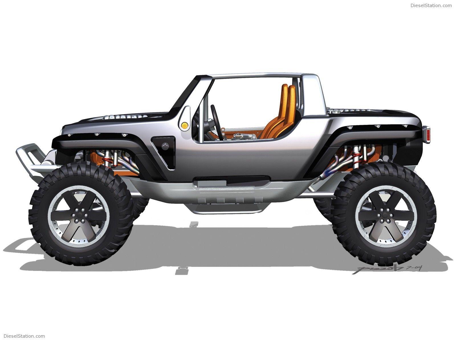 Jeep Hurricane Concept Jeep Concept Concept Cars Jeep Trailhawk