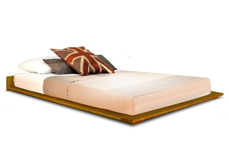 The Vanessa Timber Bed Frame Is A Low Lying Bed That Sits Very Low