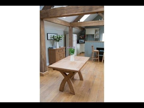 Cross Leg Extending Dining Table From Top Furniture Ltd Oak Dining Room Table Dining Table Legs Extendable Dining Table