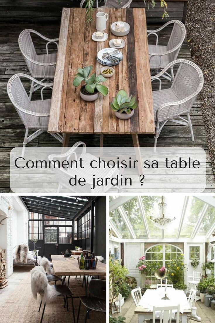 Comment choisir sa table de jardin ? - Artsdeco.org | ArtsDeco, le ...