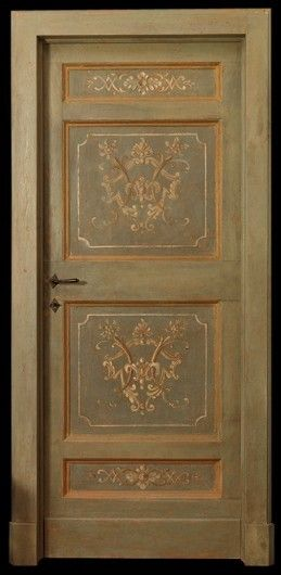 Reproduction of Antique Painted Door & Reproduction of Antique Painted Door | Windows Doors and Entrys ... pezcame.com