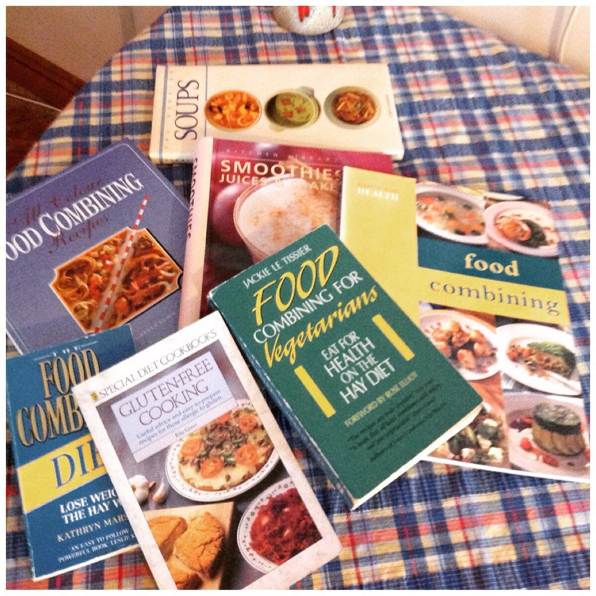 Some of my original cook books that have inspired me to follow food some of my original cook books that have inspired me to follow food combining recipes forumfinder Image collections
