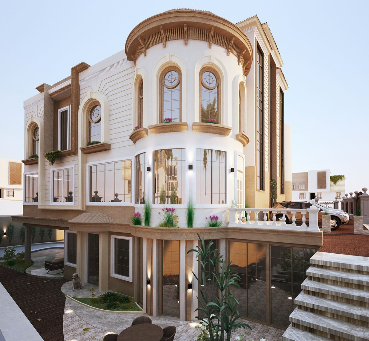 Classic Villa Proposal on Behance Classic Villa