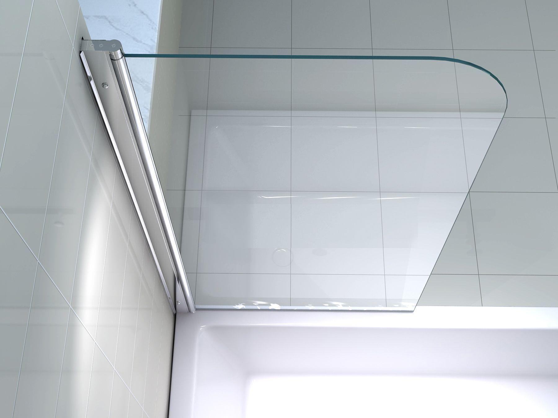 Duschabtrennung Fur Badewanne Montieren Bathtub Bathroom