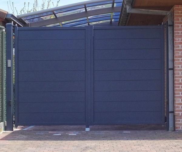 AluminiumGartentor Alzebra Prive online kaufen bei ZAUN24