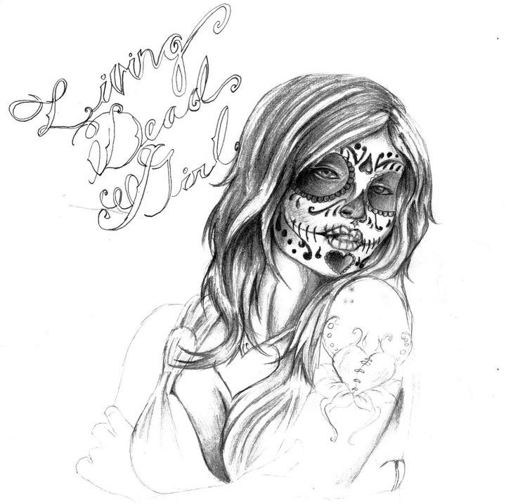 Use the form below to delete this Day Of The Dead Skull Tattoo ...