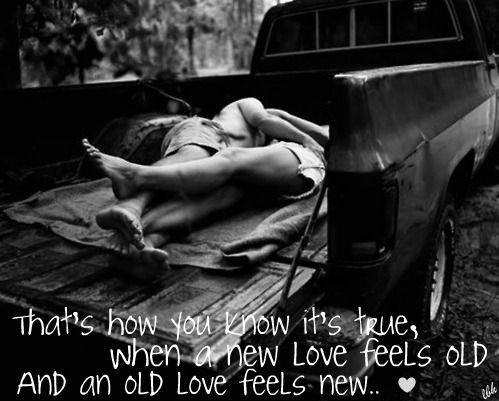 Old love feels new lyrics