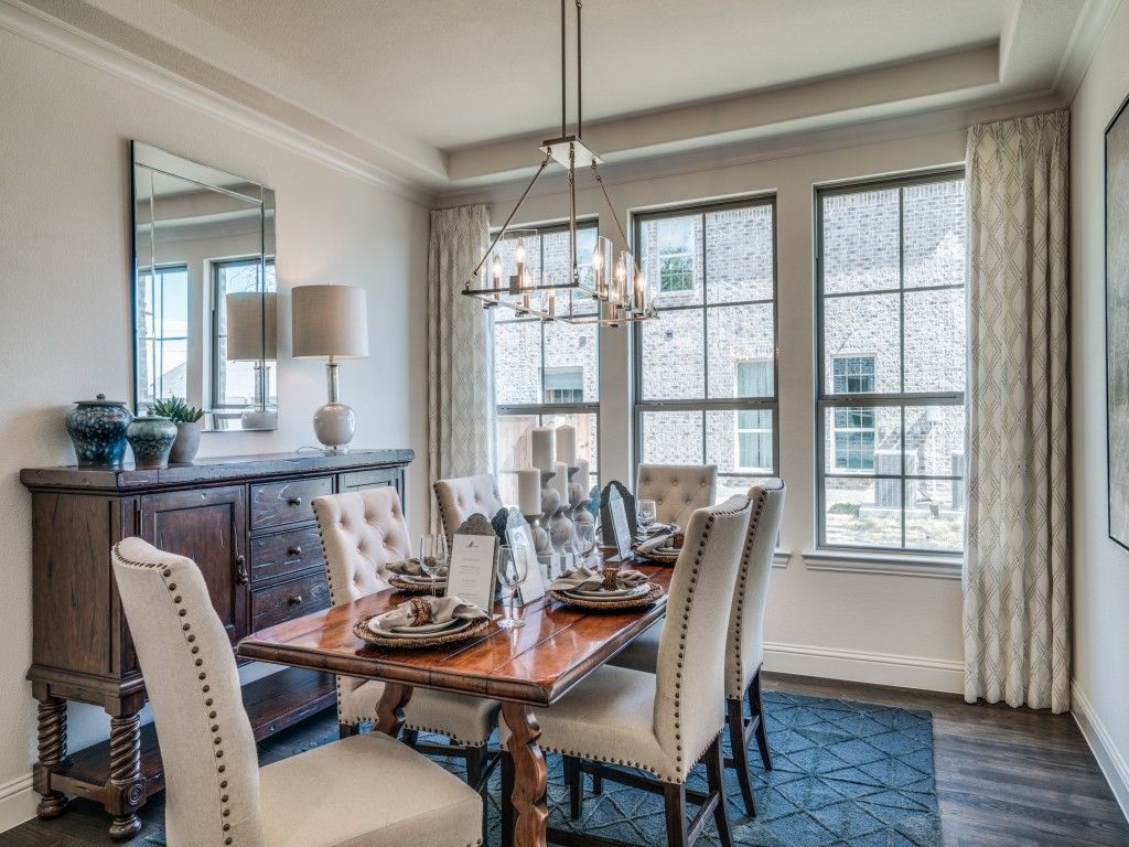 Dining Room Of Saxony By Shaddock Homes In Castle Hills Southpointe ShaddockHomesTX FormalDining